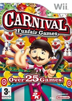 Carnival Funfair Games Nintendo Wii Game | Very Good Condition 3 MONTH WARRANTY