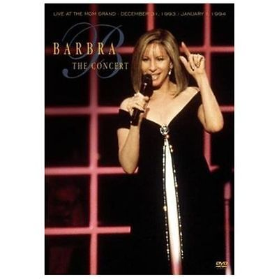 New Dvd Barbra Streisand - The Concert: Live At The Mgm Grand Free Shipping