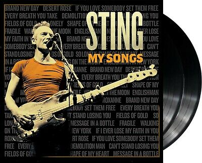 "Sting ""my songs"" 180g heavyweight Vinyl 2LP NEU Best-Of Album 2019"