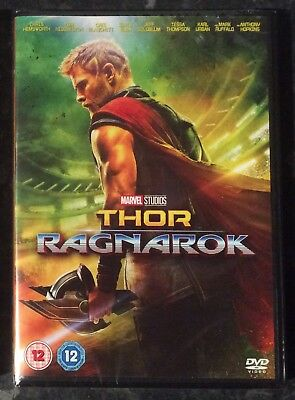 Thor Ragnarok Marvel Dvd Brand New & Factory Sealed Mint Condition