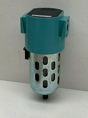 "Wilkerson F16-02-F00 Particulate Compressed Air Filter 1/4"" Automatic Drain FOO"