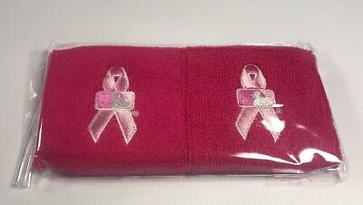 MLB Pink Mothers Day Wristbands Set of 2 New