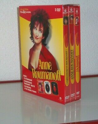 Coffret Collector ( 2006 ) 3 Dvd / Neuf Sous Emballage  : Anne Roumanoff