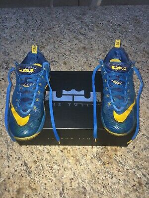 outlet store 97d31 a52bb Nike Lebron XII 12 Low Entourage Mens Size 11.5