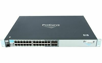 HP Procurve 2510g-24 J9279a 24-ports + 4 X SFP Gigabit Ethernet Switch Réseau