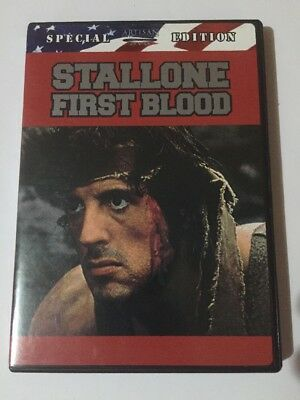 First Blood (DVD, 2002, ) Widescreen And Fullscreen. Special Edition