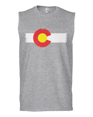 Colorado State Flag - The Centennial State Pride Sleeveless T-Shirt