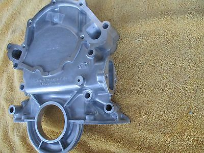 New Ford Mustang 5.0 302 351W Timing Cover W/Diptube Hole & Fuel Pump Mount 255