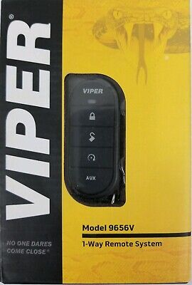Viper 9656V 1-Way Led Remote System With 1/2 Mile Range For Remote Start Systems