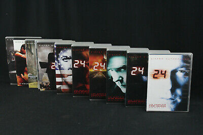 24 The Complete Series Season 1-8 DVD Box Sets + Redemption & Live Another Day