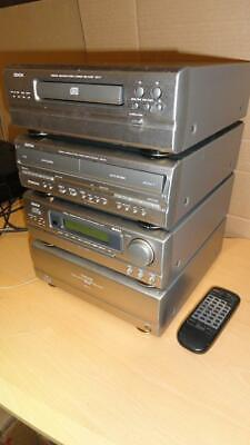 DENON D-99 Hi-FI SEPARATE COMPONENT STEREO SYSTEM With REMOTES&Wires-HiFiSecond