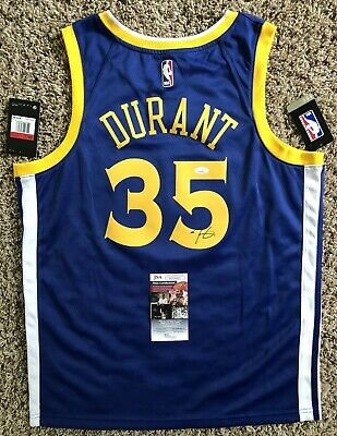 5199171403f Kevin Durant Signed Authentic Golden State Warriors Jersey JSA COA  35 NBA  MVP !