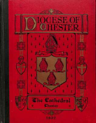 DIOCESE OF CHESTeR., No author., Good Condition Book, ISBN