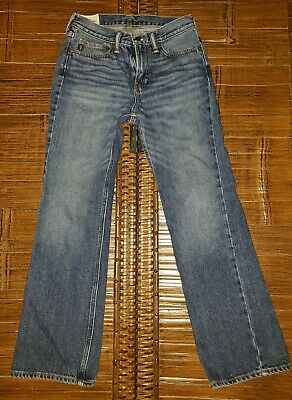 NWOT Abercrombie & Fitch Youth Boys Denim Jeans Size 14