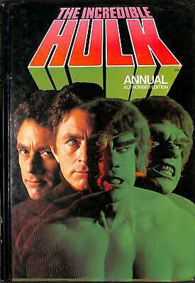 The Incredible Hulk Annual 1979, Anon, Good Condition Book, ISBN 0723504962