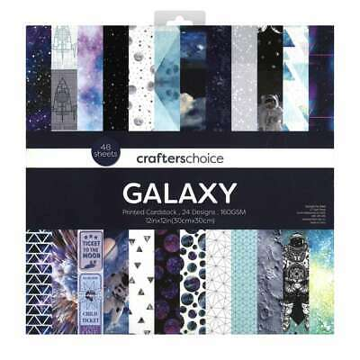 NEW Crafters Choice Galaxy Paper Pad By Spotlight