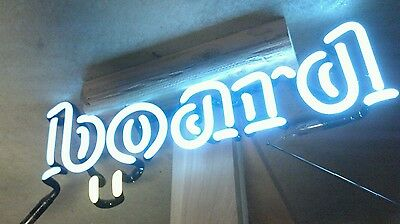 Kona board script Beer light Neon Sign piece Tube Part Hawaii Surfing mancave
