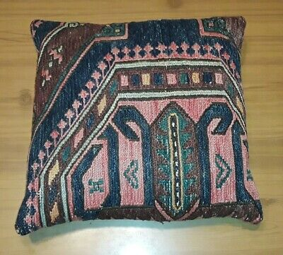 1920's ANTIQUE ARTS CRAFTS MISSION STYLE STICKLEY ERA EMBROIDERED LINEN PILLOW