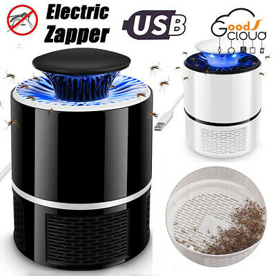 Electric Mosquito Zapper Fly Bug Insect Killer LED Light Trap Lamp Pest Control