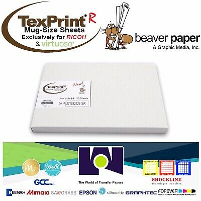 TEXPRINT R Transfer Paper TP-R-13-19-110 for Ricoh/Virtuoso 110 Sheet Pack