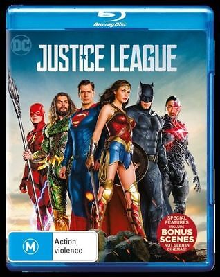 Justice League (Blu-ray, 2018)
