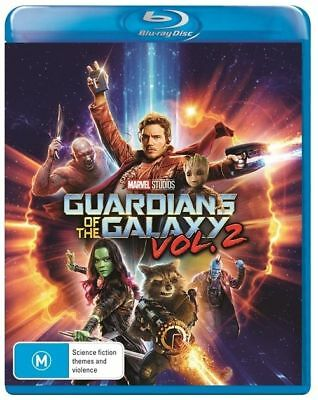 Guardians Of The Galaxy : Vol 2 (Blu-ray, 2017)