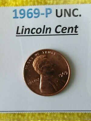 1969- P Lincoln Cent + FREE GIFT with your 1 uncirc. 1969 Lincoln Penny! Awesome
