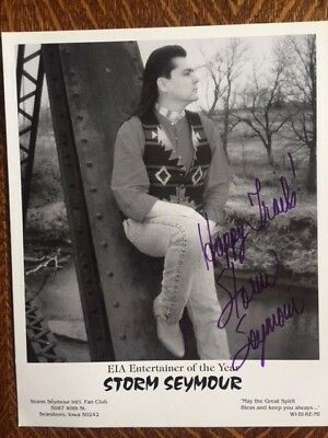 Storm Seymour Country Music Autographed Signed Photo