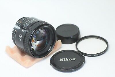 Nikon AF Nikkor 85mm F/1.8 D Made In Japan
