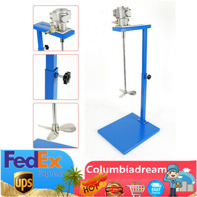 5 Gallon Air Paint Mixer Pneumatic Mixing Machine w/ stand shaft Stainless Steel