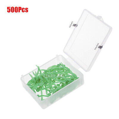 500pcs Dental disposable Plastic Wedge With Hole Small size wave shape Wedges