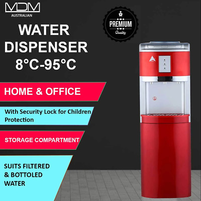 Awesome Aimex Floor Standing Water Cooler Dispenser Red
