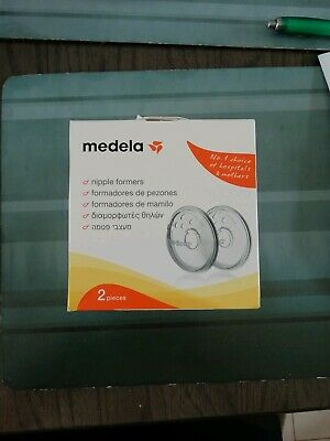 New MEDELA Nipple Formers 2piece