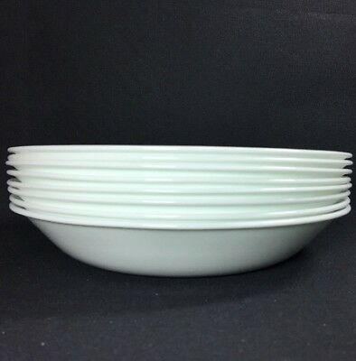 Corning Corelle Livingware Winter Frost White Set of 12 (20-oz) Pasta Bowls NEW