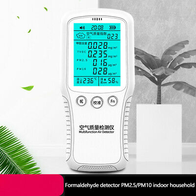 PM2.5 Formaldehyde Detector PM10 HCHO Household Air Quality Measuring Instrument