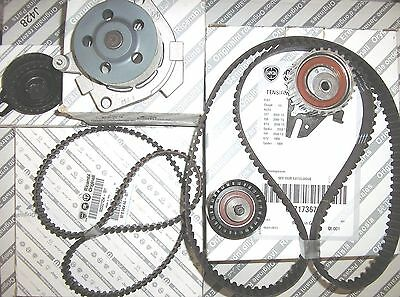 ALFA ROMEO 156 147 166 2.0 16V TS Genuine Timing Cam Balance Belt Water Pump Kit