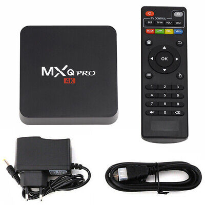 MXQ PRO Quad Core Android 7.1 Smart TV Box 1G+8G HDMI WIFI 4K Media Streamer