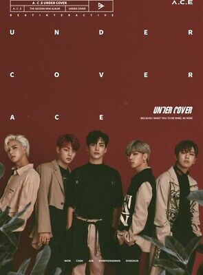 A.C.E 2nd Mini Album - [UNDER COVER] CD+Photobook+Photocard+Photo Sticker Sealed