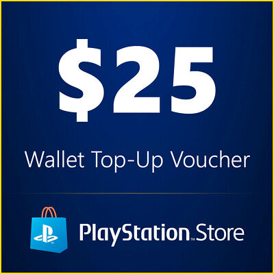 PSN $25 Playstation Network $25 USD US Store Card - 5% off with code PARRY