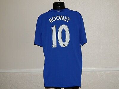Manchester United Football 2008-09 Third Shirt Jersey Wayne Rooney 10, Mens L