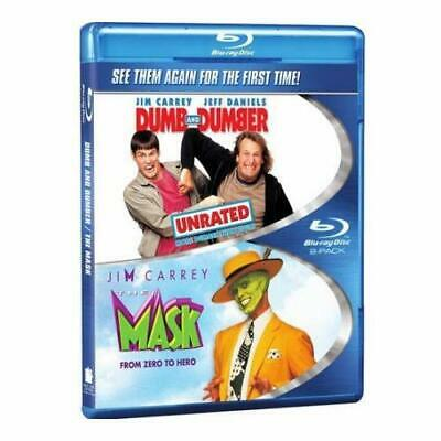 The Mask / Dumb And Dumber Double Feature Blu-Ray On Blu-Ray Very Good