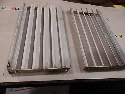 1974 Case 1070 Farm tractor grill side louvers