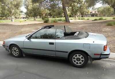 1989 Toyota Celica Gt Convertible One Owner Low Mileage Original At No