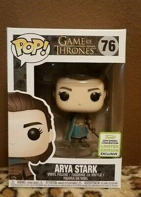 Funko Pop! Game of Thrones #76 Arya Stark ECCC 2019 Shared Exclusive