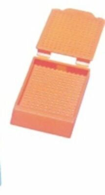 Micro Mesh Biopsy Processing / Embedding Cassettes - Orange 50 Count