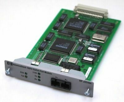 HP J3248A 100FX Switch Port Module Fast Ethernet 100Base-FX 244551-280