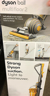 DYSON UP19 Ball Multi Floor 2 Upright Vacuum Cleaner Yellow HEPA Root Cyclone