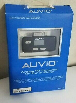 New Open! Auvio Wireless FM Transmitter for iPod or iPhone