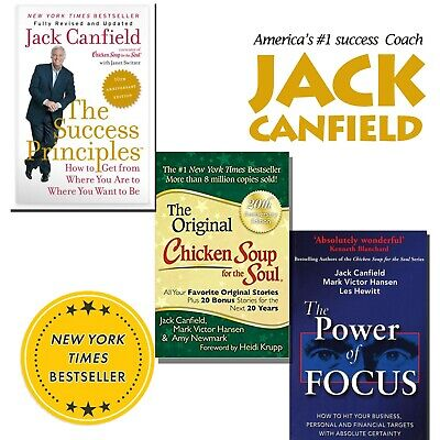 PDF Jack Canfield book collection 3 in 1 success self help ebook free shipping
