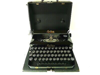 ERIKA Typewriter, Model S, 1940, Excellent condition, fully serviced & working